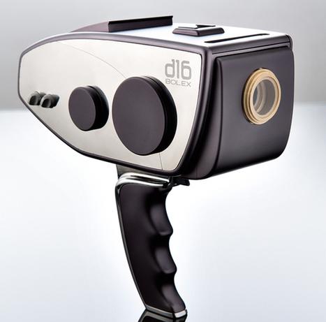 Digital Bolex : le retour de la caméra 16mm ? | Blac Magic Cinema Camera | Scoop.it
