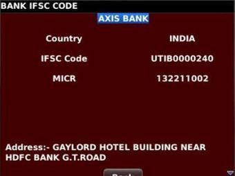 Axis Bank Bangalore Ifsc Code | Banking Services | Scoop.it