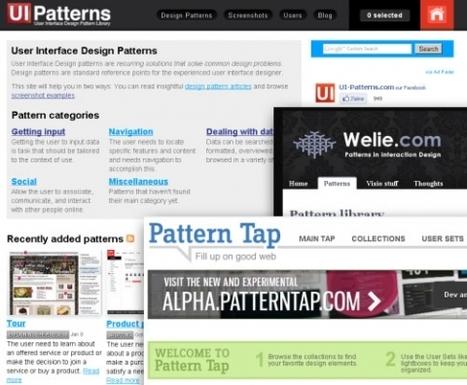 Trois collections de design patterns | Gestion de projet web | Scoop.it