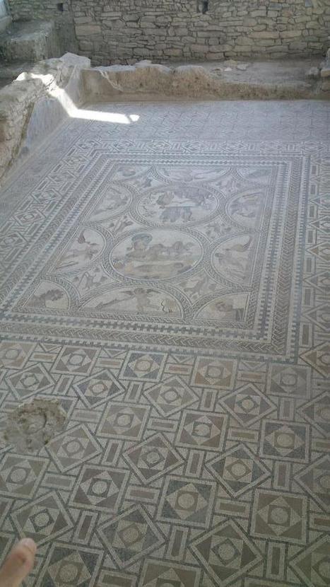 Foto del Mosaico de los Amores (RT @AFQ_Linares: Impresionante la riqueza que ofrece Cástulo). | Cástulo, capital de Oretania | Scoop.it
