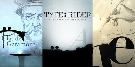 Fun With Fonts: Type:Rider Is A Beautiful Puzzle-Platform Game On Typography | Design, Photography, and Creativity | Scoop.it