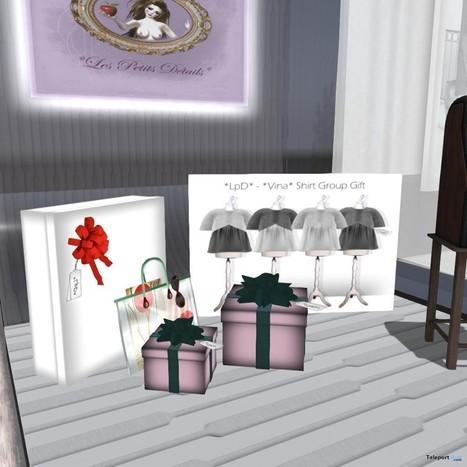 Vina Shirt Group Gift by LpD | Teleport Hub - Second Life Freebies | Second Life Freebies | Scoop.it
