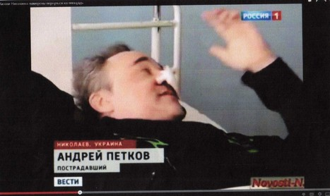 Russian TV Propagandists Caught Red-Handed: Same Guy, Three Different People (Spy, Bystander, Heroic Surgeon) | Lies About Ukraine | Scoop.it