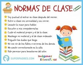 Infografía: Normas de clase | desdeelpasillo | Scoop.it