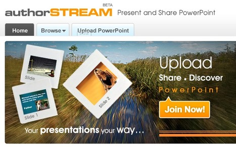 PowerPoint Presentations Online - Upload and Share on authorSTREAM | Education Technology @ NWR7 | Scoop.it
