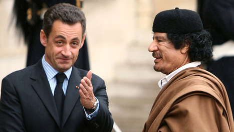 Sarkozy's Gaddafi campaign scandal: Police search office of French ex-Interior Minister — RT News | Global politics | Scoop.it