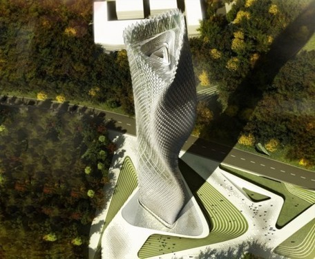 Taiwanese Wind Tower is Covered with Thousands of Wind Turbines and LED Lights | sustainable architecture | Scoop.it