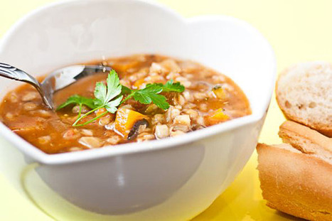 Vegetable and Barley Soup | Healthy Whole Foods | Scoop.it