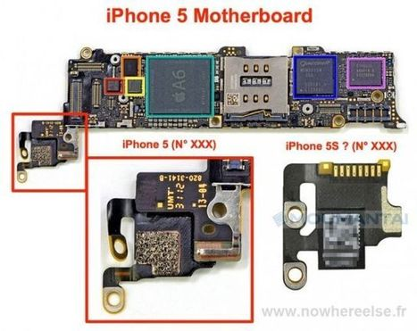 Small Piece Of The iPhone 5S Motherboard Leaks To The Web | Macwidgets..some mac news clips | Scoop.it