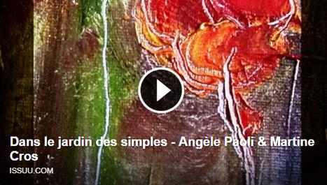 [à la Une de la revue Ce qui Reste] Angèle Paoli & Martine Cros, Dans le jardin des simples | TdF  |    Critique & Revues | Scoop.it