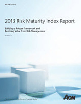 Risk Maturity Index, maturité du dispositif de gestion des risques - Aon , Risques, Réassurance, Ressources humaines | Assurveillance | Scoop.it