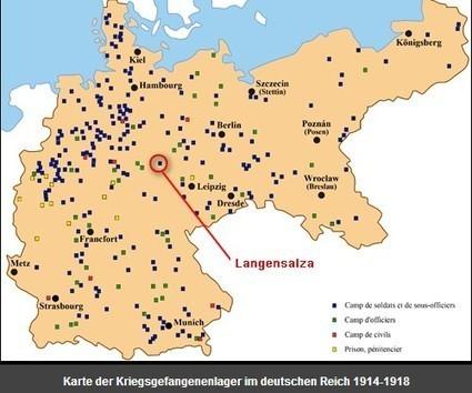 Il y a 100 ans - Le camp de Langensalza … et l'épidémie de typhus du printemps 1915 | Nos Racines | Scoop.it