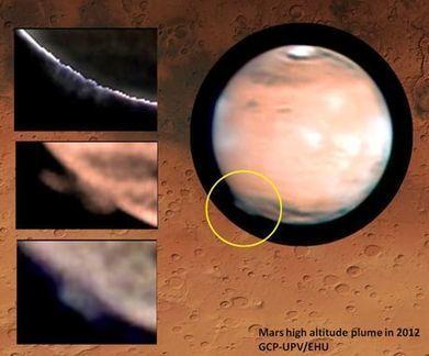 Due ipotesi per i misteriosi pennacchi nell'atmosfera di Marte - Le Scienze | AboutBC - Cultura y Ciencia | Scoop.it