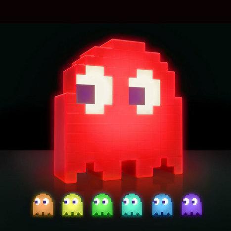 Lampe fantôme Pac-Man - Geek | News geek | Scoop.it