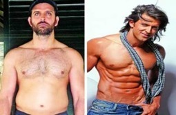 How Hrithik Roshan Came Out from Belly Fat and Made Six Packs? | Sehat Asia | Health is life | Scoop.it