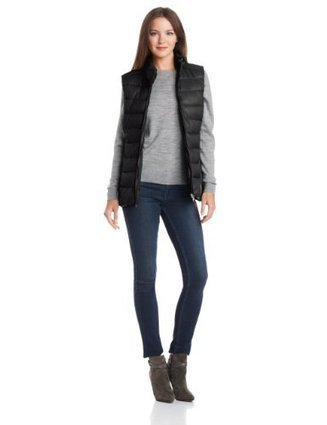 sport blazers: Great Weight And Texture Tommy Hilfiger Women's Quilted Down Vest Stylish | fashion | Scoop.it