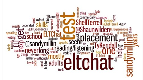 Placement Tests – #ELTchat Summary 07/09/2011 | | #eltchat | Scoop.it