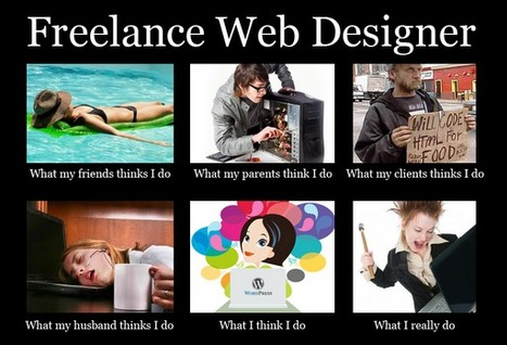 Freelance Web Designer | What I really do | Scoop.it