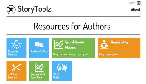 StoryToolz : Resources for Authors | Tracking Transmedia | Scoop.it
