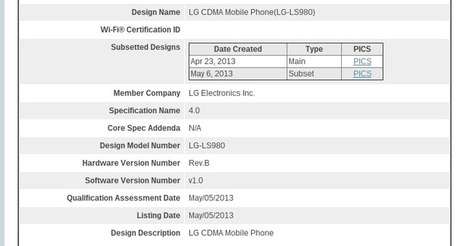 LG Optimus G successor spied on Sprint website   My smartphone   Scoop.it