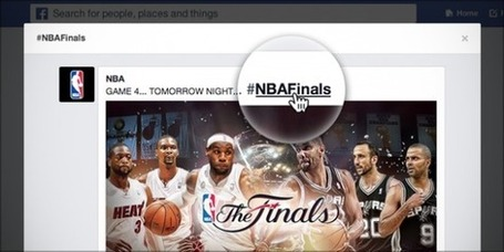 Facebook Lance Enfin Les Hashtags sur sa Plateforme ! - Emarketinglicious | Internet tips | Scoop.it