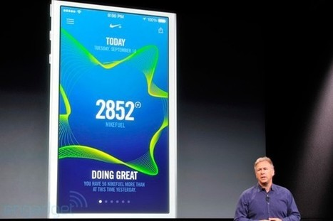 Nike's Move app brings Fuelband skills to your iPhone 5s | iPhone 5S | Scoop.it