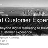 New Customer - Passenger Experience
