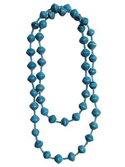 Recycled Paper Bead Necklace | Make stuff | Scoop.it