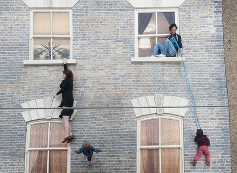 Une illusion d'optique avec la façade d'un bâtiment | Resolunet | Scoop.it