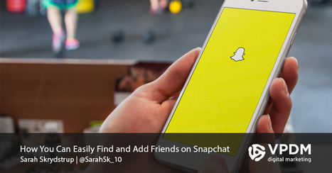How To Easily Find Snapchat Friends and Snapchat Users | Content Marketing | Scoop.it