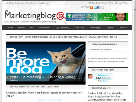 Which UK Marketing Blogs Should You Follow? | Enjoy - Really Fresh 'Social Business' News | Scoop.it