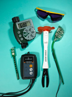 Tech Toys for the Gardener: Organic Gardening | Technology in the Home | Scoop.it