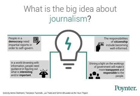 Excelente planteamiento...> Hey, what's the big idea – about journalism? | Poynter. | Comunicación inteligente | Scoop.it