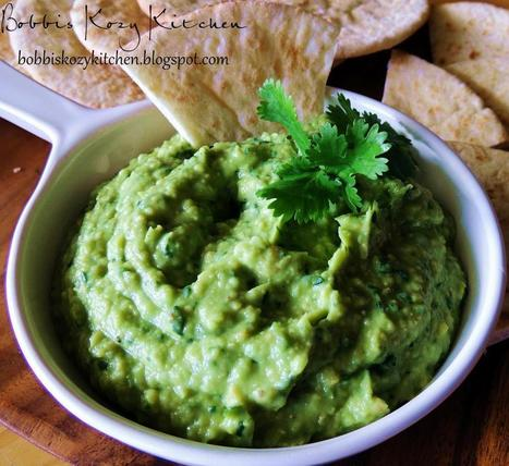 Bobbi's Kozy Kitchen: Avocado Hummus AKA Guacammus | Food for Foodies | Scoop.it