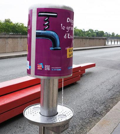 De l'eau pétillante gratuite sur les berges de Seine | Tout savoir sur l'eau | Scoop.it