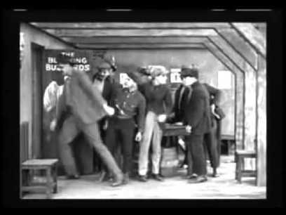 """Buster Keaton in """"The High Sign"""" 