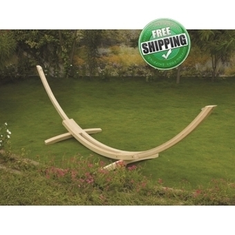 15'FT AMERICAN CYPRES WOOD CURVE STAND | Hammocks in India | Scoop.it