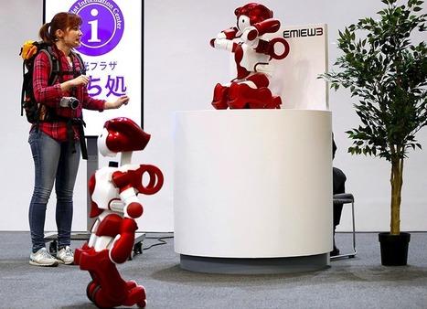 Live Japon: Emiew3, un de plus pour vous servir ! | Une nouvelle civilisation de Robots | Scoop.it