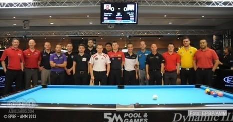 """Tension Extreme"" in Dynamic Billiard Castel Brando Open | Pool & Billiards | Scoop.it"