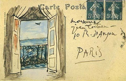 The Postcards That Picasso Illustrated and Sent to Jean Cocteau, Apollinaire & Gertrude Stein | doodling | Scoop.it
