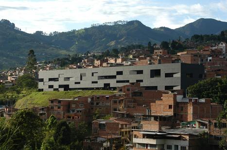 Parque Biblioteca Fernando Botero / G Ateliers Architecture | Bibliotecas | Scoop.it