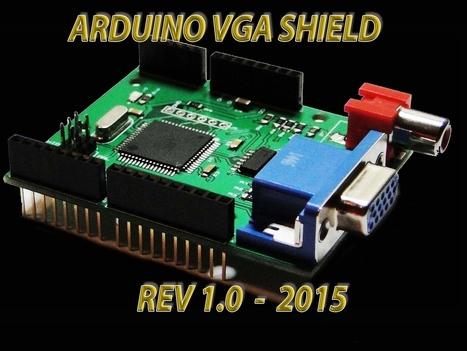 VGADuino , VGA Graphic Shield for ARDUINO with RGB/AV ports | Raspberry Pi | Scoop.it