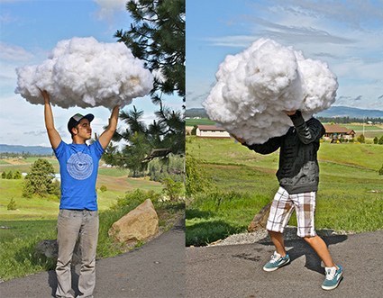 Props - How To Make A Cloud - DIY Photography | Life in Progress | Scoop.it