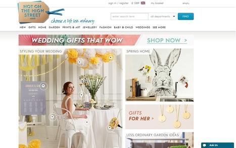 Ecommerce Web Design Inspiration for 2015 - Cambridgeshire | Xanthos Digital Marketing | Digital Marketing | Scoop.it