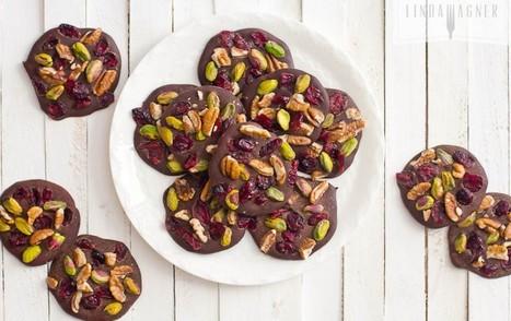 Superfood Chocolate Jewels [Vegan, Gluten-Free] | My Vegan recipes | Scoop.it