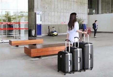 Une start up française invente des valises révolutionnaires | Tourisme Tendances | Scoop.it