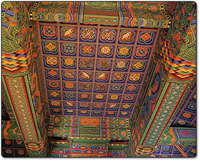 Korean ceiling pattern | Year 3-4 Arts: Visual arts - Korean patterns | Scoop.it