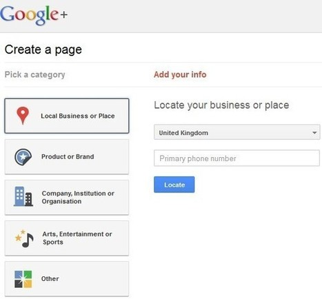 Setting Up Your Google+ (Business) Page in 5 Easy Steps | My Google Plus Guides | G+ Smarts | Scoop.it