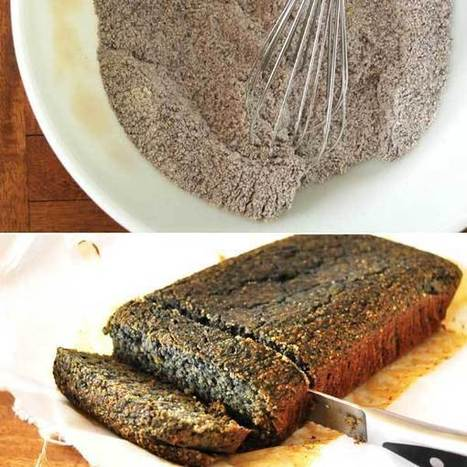Vegan Blue Cornbread Recipe for Winter | My Vegan recipes | Scoop.it