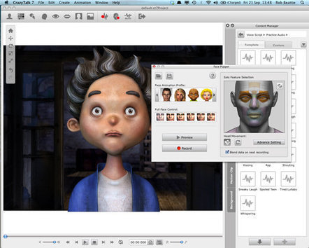 Crazy Talk 7 review - Mac software - Macworld UK | Animació amb Stop Motion | Scoop.it